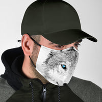 Fun Adjustable Wolf Face Mask
