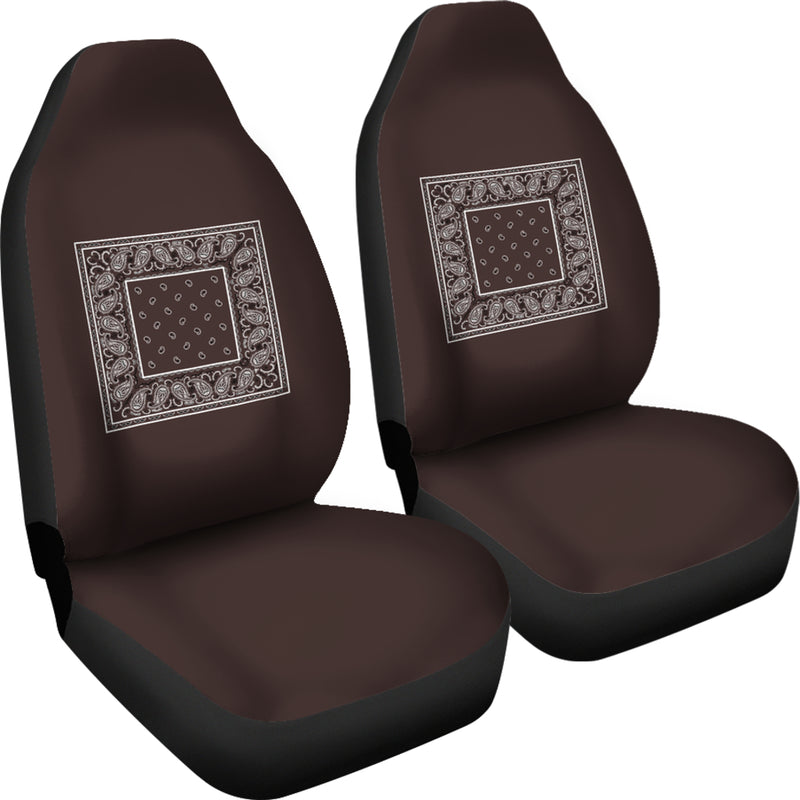 brown seat cover