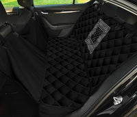 Black Bandana Car Pet Seat Covers