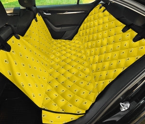 yellow seat cover for pets