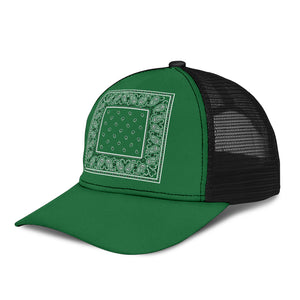 green bandana hat