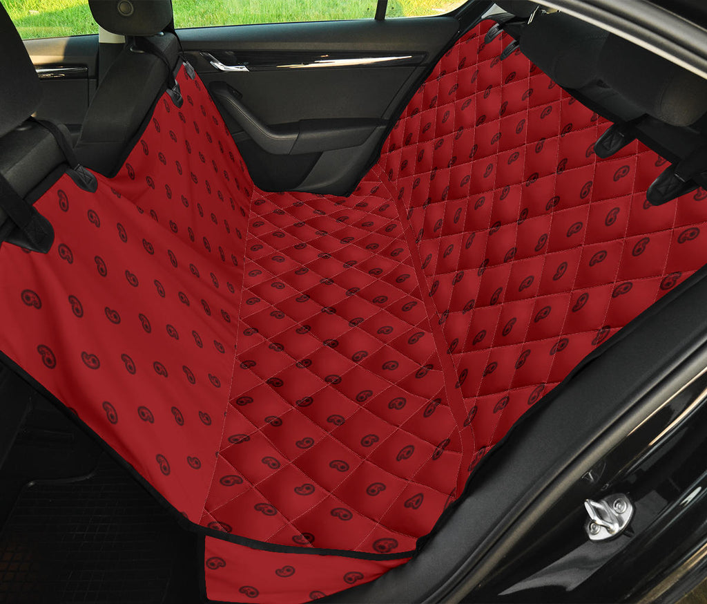 red pet seat cover
