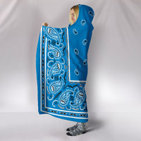 Ultimate Sky Blue Bandana Hooded Blanket