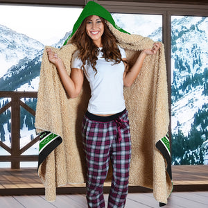 Green Hooded Blankets