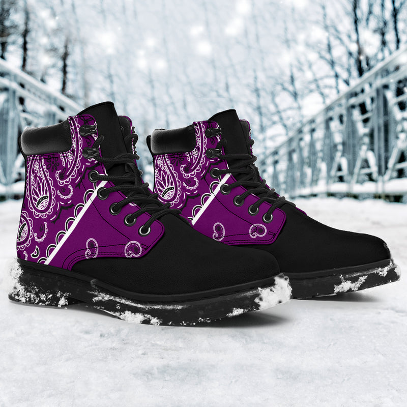 Wild Plum Bandana Blackout All Season Boots