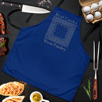 Blue Chef's Apron