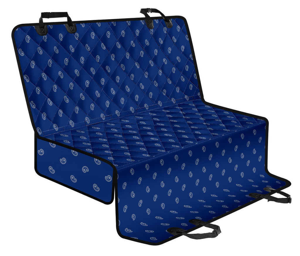 blue pet seat covers