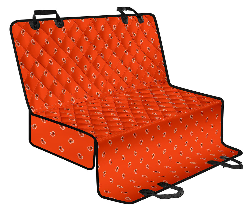 orange seat covers for dogs