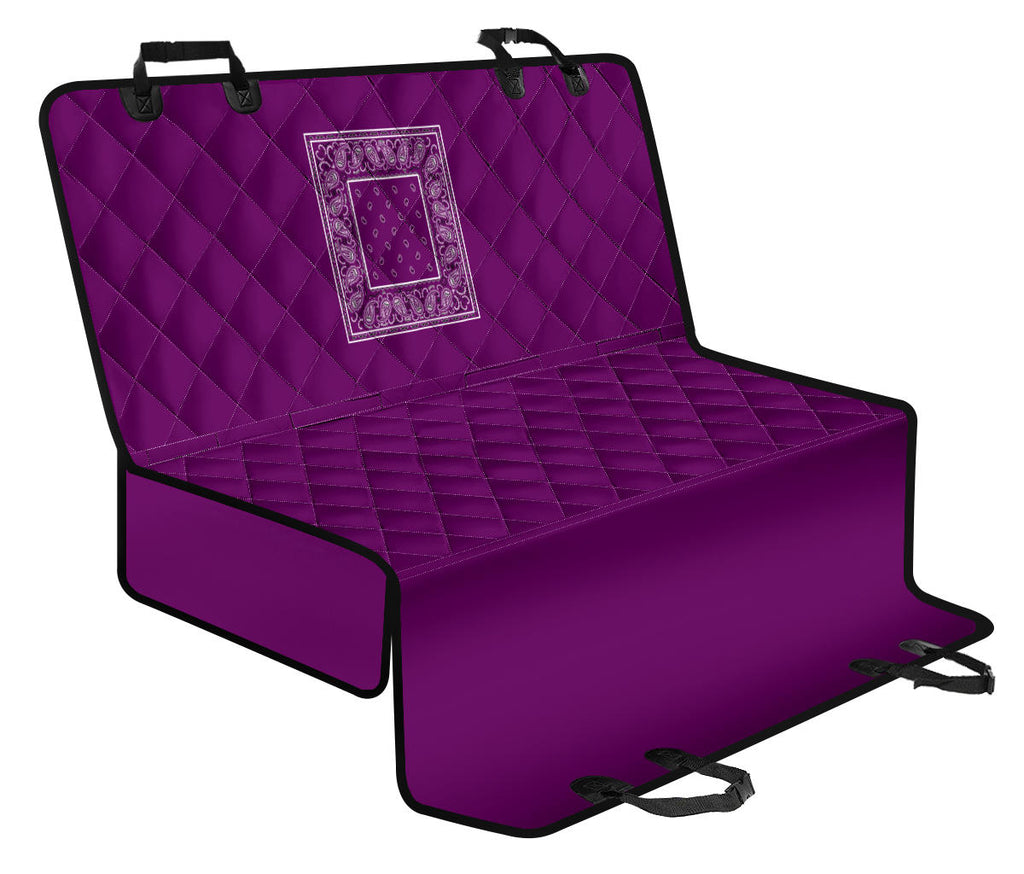 purple seat covers for dogs