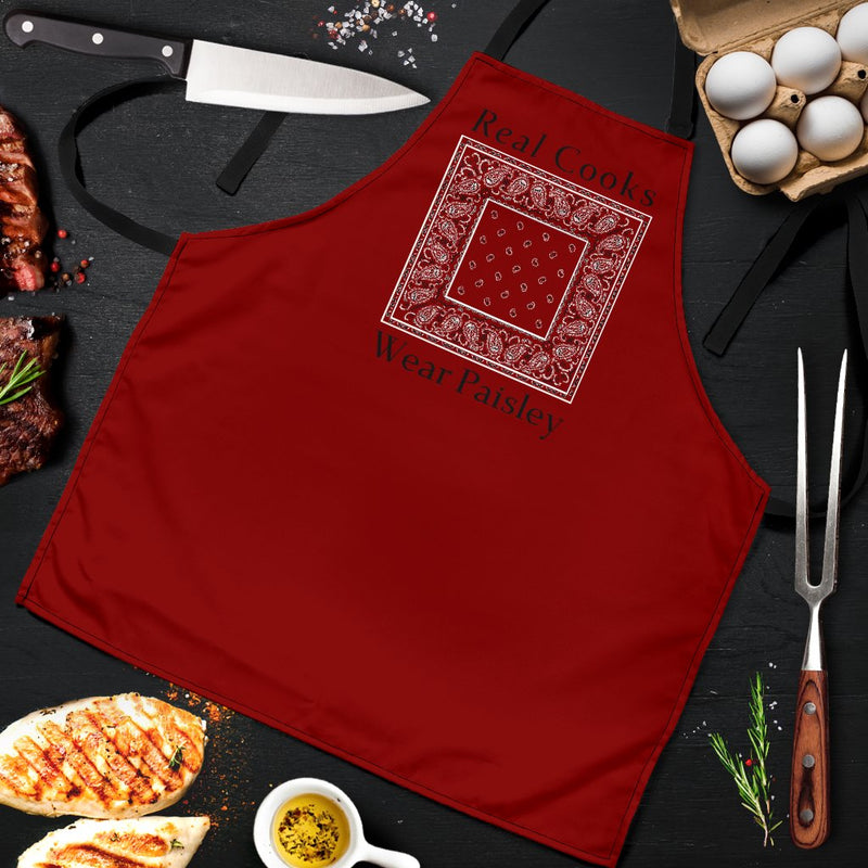 Real Cooks Wear Paisley Apron