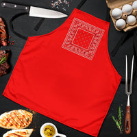 Red Bandana Cooking Aprons