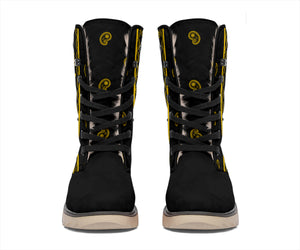 Black Gold Bandana Women's Winter Boots