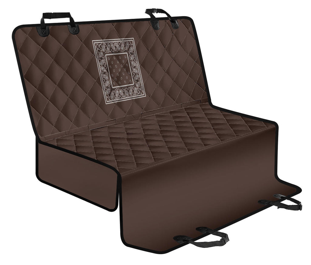 brown seat cover for pets