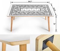 White Coffee Table Assembly