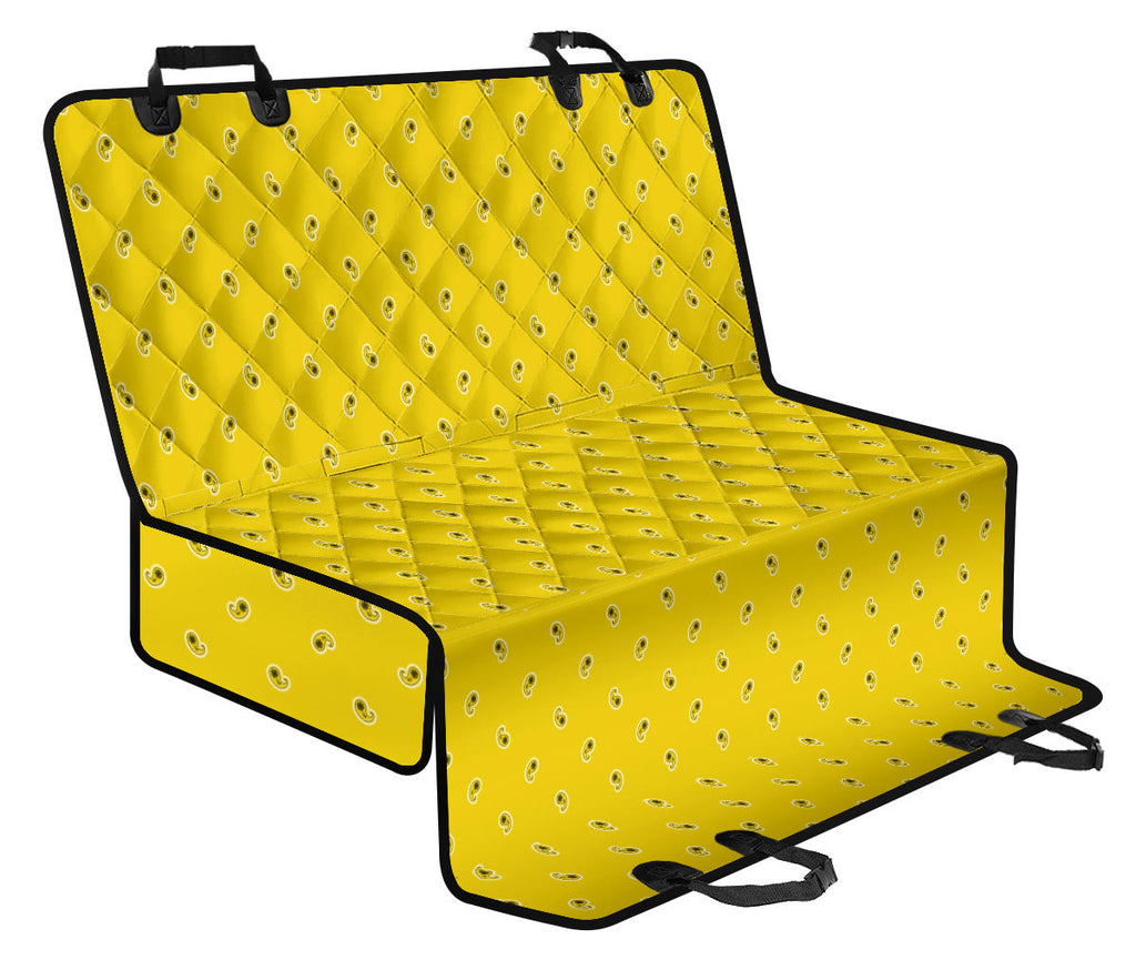 yellow pet seat covers