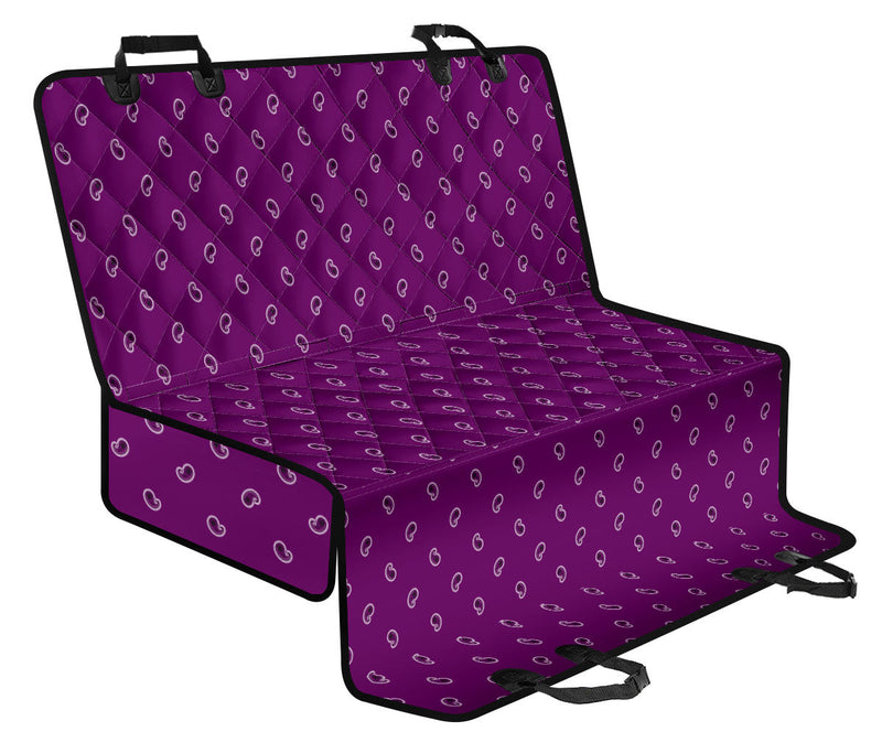 purple back seat cover for pets