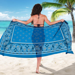 Blue Bandana Sarongs