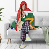 South African Hooded Blanket