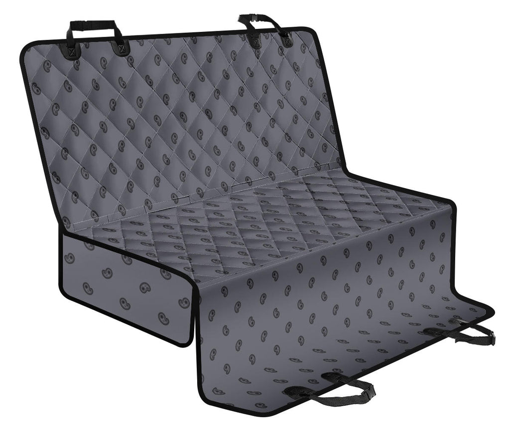 gray back seat cover
