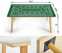 Green Bandana Coffee Table Assembly