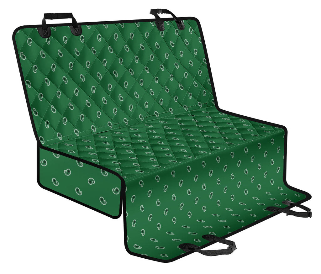 green auto seat cover for dogs