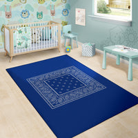 blue nursery carpeting
