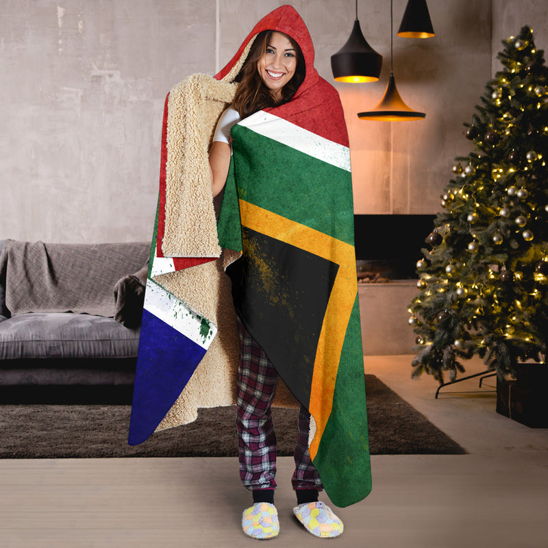 South African Hooded Blankets