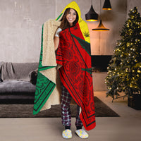 Mary Jane Hooded Blanket
