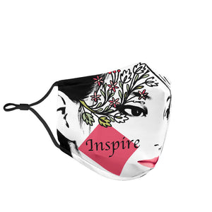Inspire Dreams Motivational Face Mask
