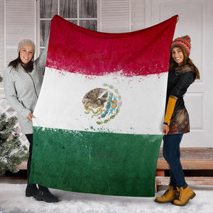 Mexican Flag Blanket