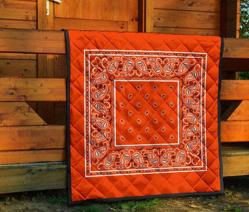 Orange Bandana Quilts