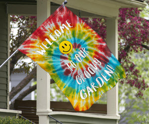 Groovy Welcome Flags Collection - 3 Designs
