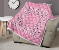 Light Pink Bandana Quilts