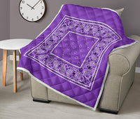 Purple Bandana Quilts
