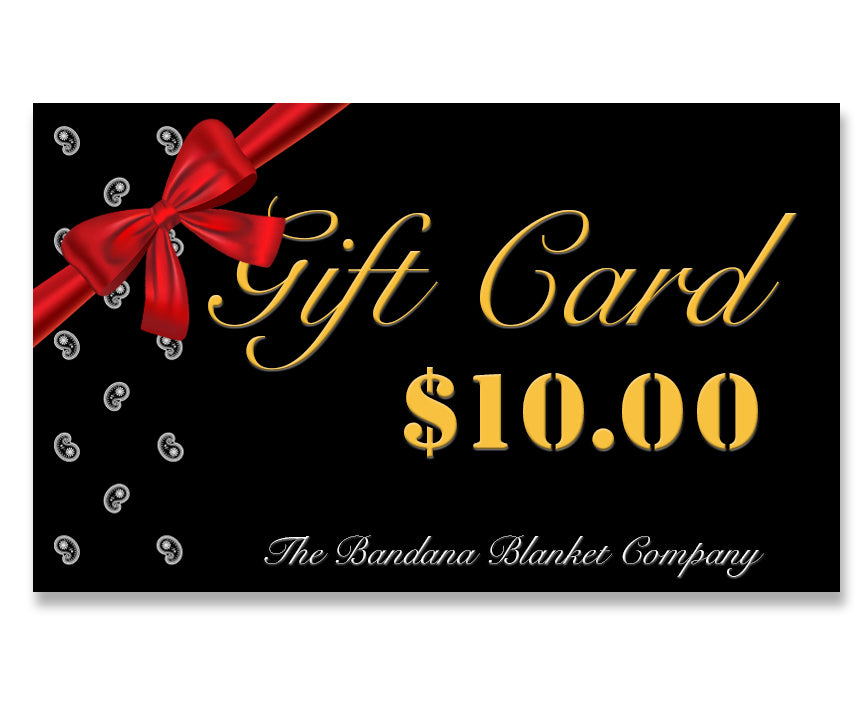 ten dollar gift card