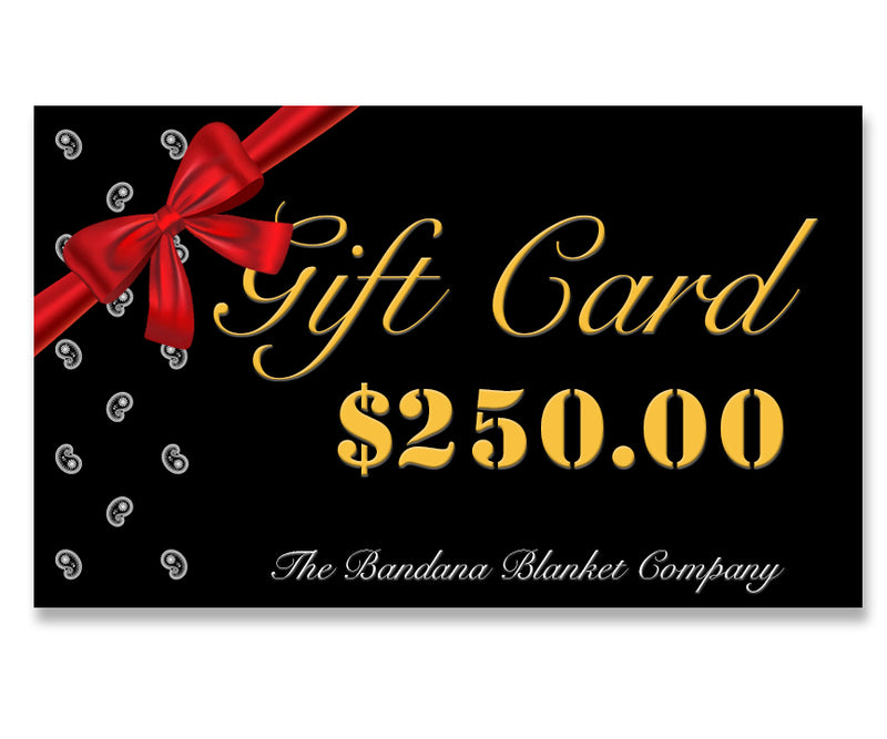 two hundred fifty dollar gift card image