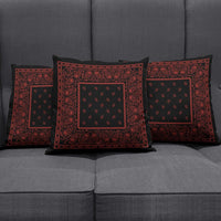 black accent pillows