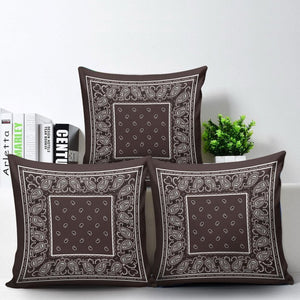 brown scatter pillows