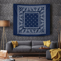 Navy Blue Tapestry