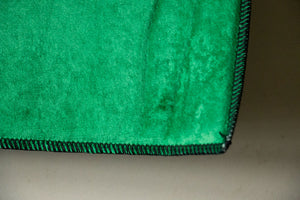 Classic Green Bandana Area Rugs - Fitted