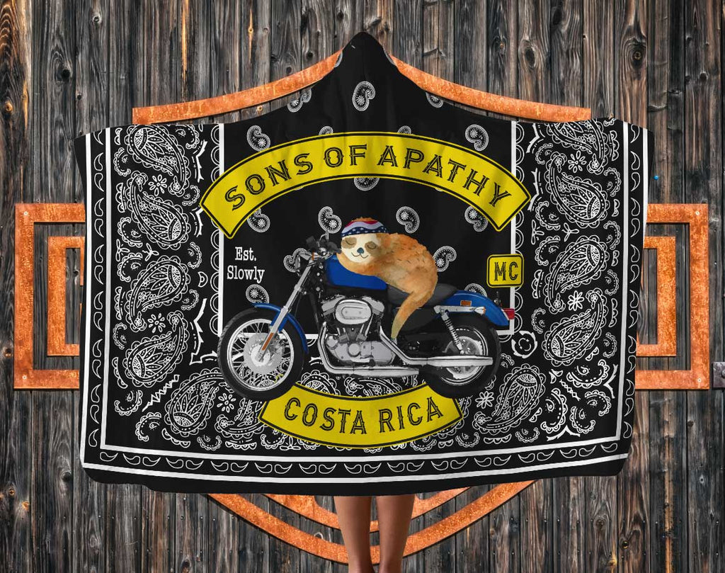 Sons of Apathy hooded blanket