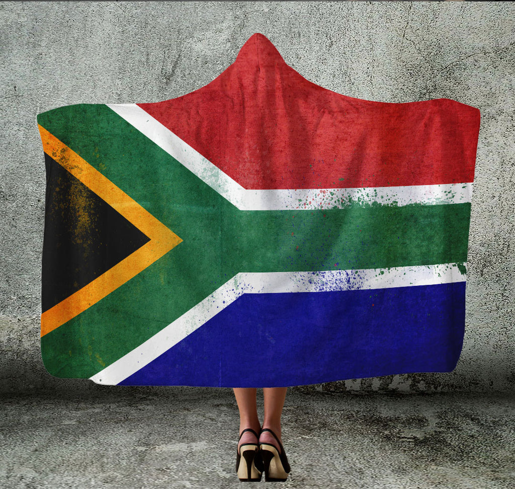 South Africa Hooded Blanket