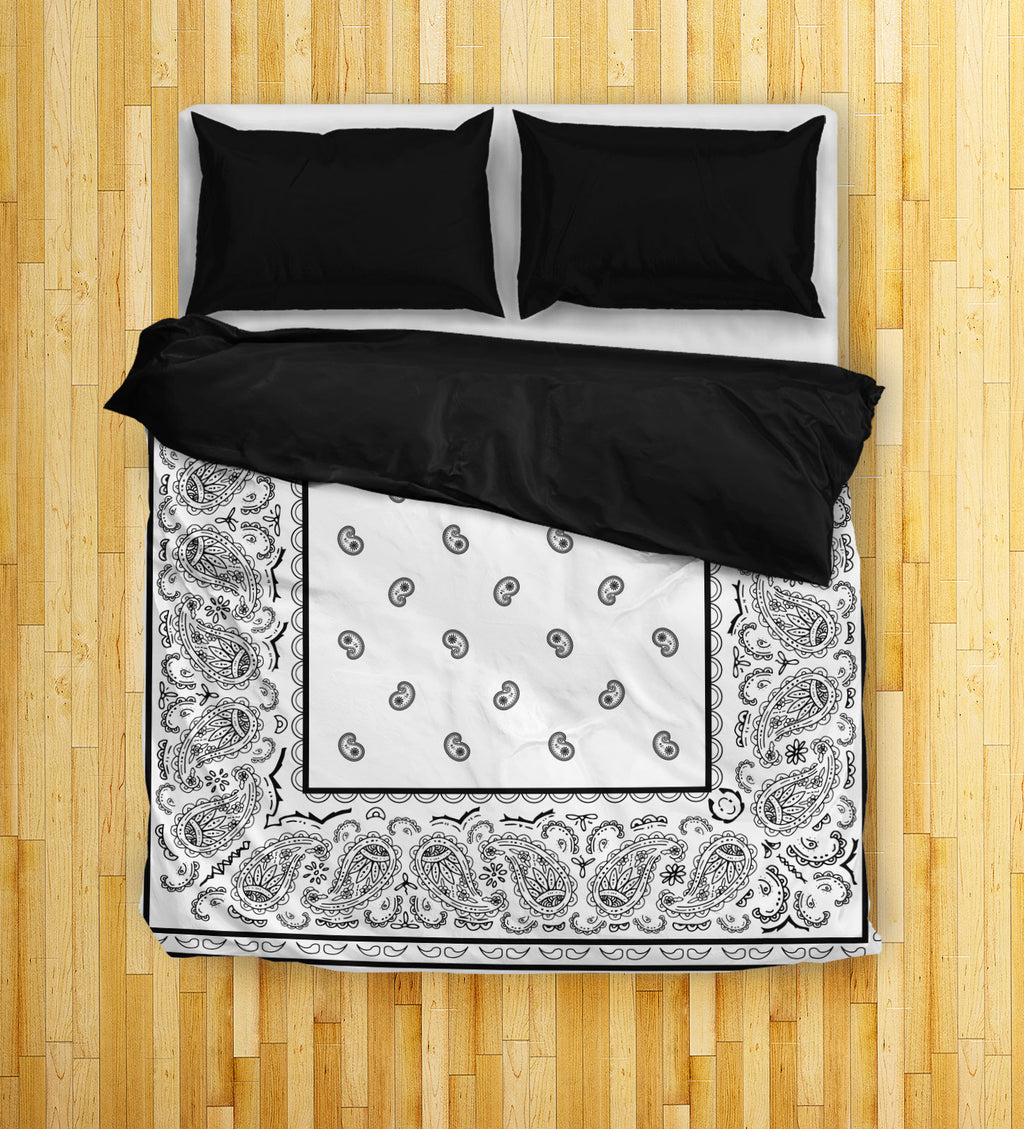 White Queen Duvet Cover Set