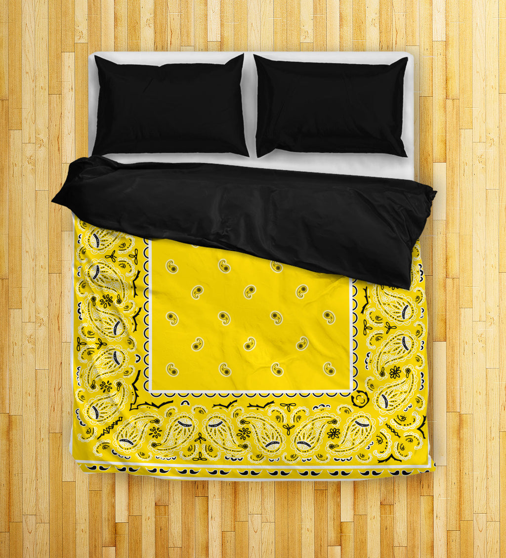 yellow duvet covers