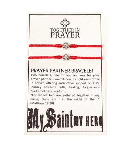 My Saint My Hero Prayer Partner Bracelets