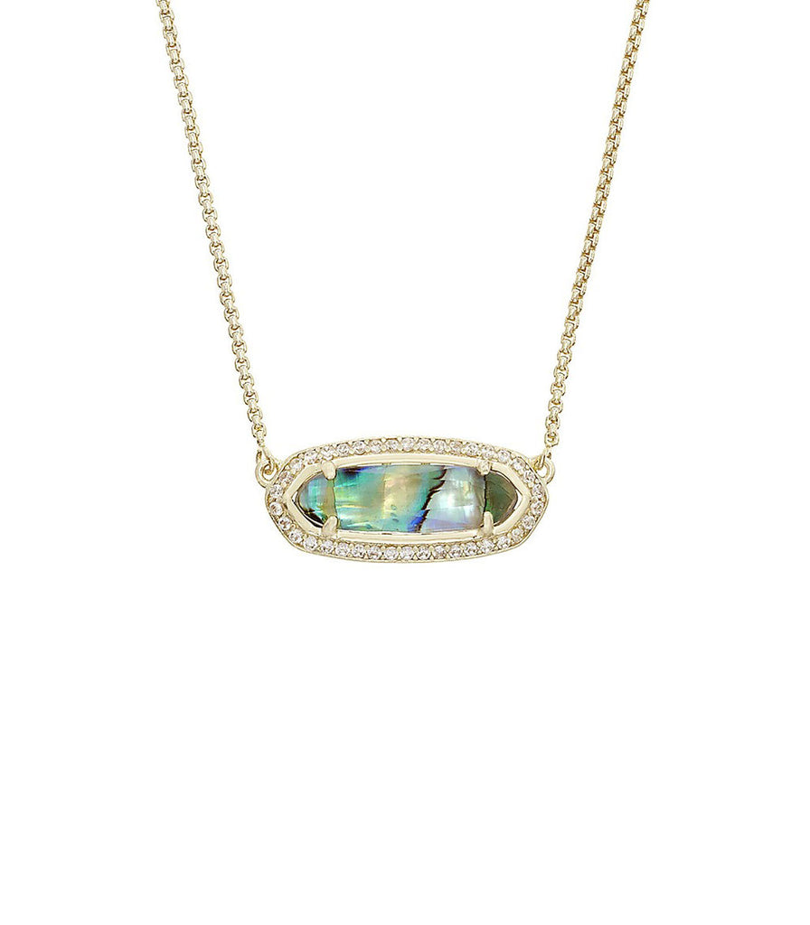 Kendra Scott Annika Abalone Pendant Necklace in 14K Gold Plated