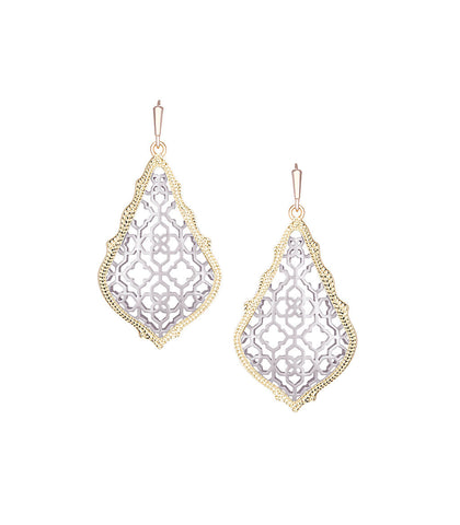 Kendra Scott Addie Earrings In Silver