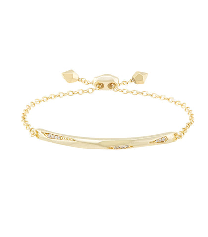 Kendra Scott Angela Bracelet In Gold