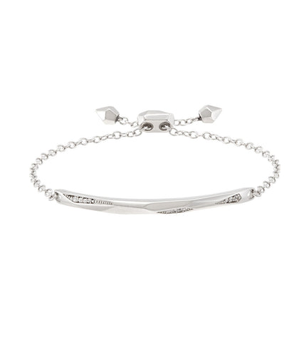 Kendra Scott Angela Bracelet In Silver