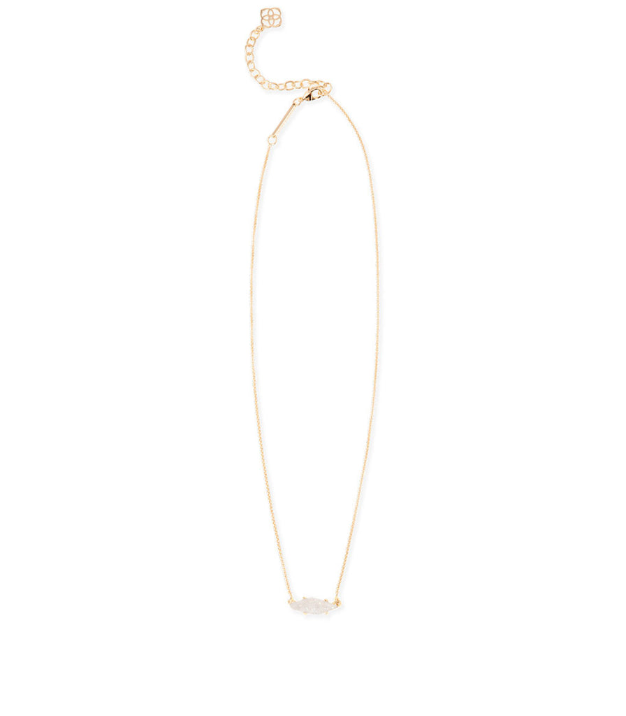 Kendra Scott Bridgete Pendant Necklace In Iridescent Drusy